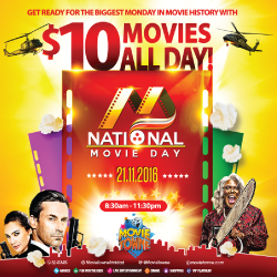 National Movie Day 2016